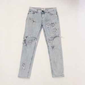 One Teaspoon | Awesome Baggies Distressed Jeans